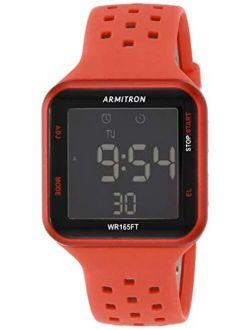 Sport Unisex 40/8417 Digital Chronograph Silicone Strap Watch
