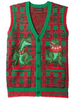 Men's Ugly Christmas Sweater Santa