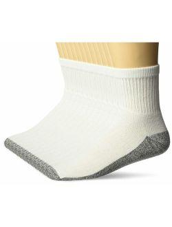 Men's 6 Pack Stain Resister Quarter Socks