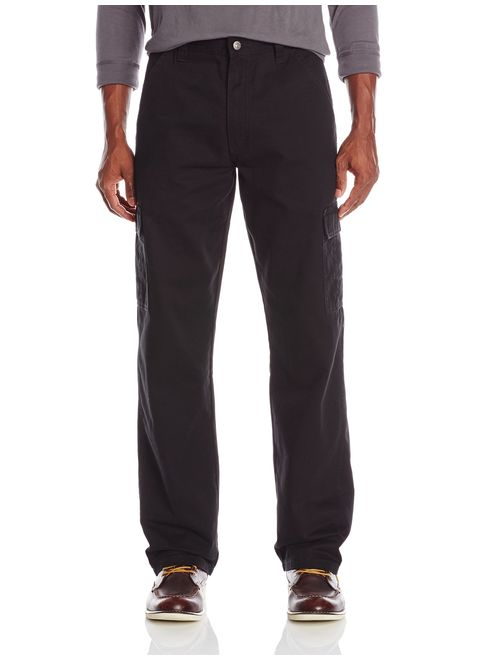 Wrangler Authentics Men's Big and Tall Classic Twill Relaxed Fit Cargo Pant