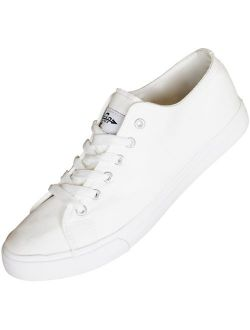 Fear0 NJ Casual Canvas Flat Shoes Tennis Boat Loafer Sneakers for Men/Women/Girl