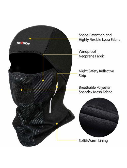 SGODDE Balaclava Ski Mask- Windproof Balaclava for Men Women Bike Face Mask  Bicycle Balaclavas Cold Weather Face Mask in Winter for Skiing Snowboarding  Motorcycling | Topofstyle