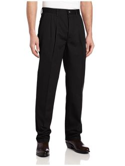Men's Riata Casual Relaxed Fit Work Pleated Work Pant