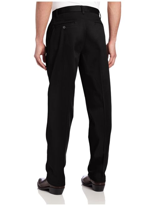 Wrangler Men's Riata Casual Relaxed Fit Work Pleated Work Pant