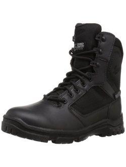 """Men's Lookout Side-zip 8"""" Black Military & Tactical Boot"""