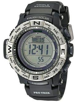 Men's Pro Trek Prw3500 Solar Powered Atomic Digital Watch