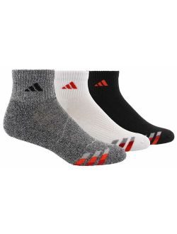 Men's Cushioned Quarter Compression Socks (3-pack)