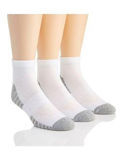 Men's Heatgear Tech Low Cut Socks, 3-pair