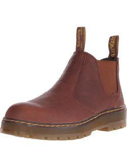 Men's Rivet Steel Toe Chelsea Boot
