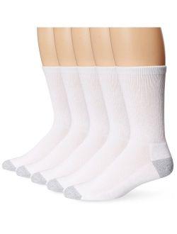 Men's 5-pack Ultimate Freshiq X-temp Crew Socks (shoe Size 6-12)