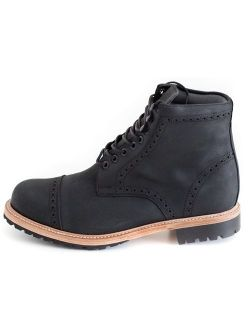 Wilcox Mens Boots Fairfax - Handmade Leather Boot for Men with Premium Comfort and Durability - Hiking Boots with Resoleable Design - Ready for Any Adventure
