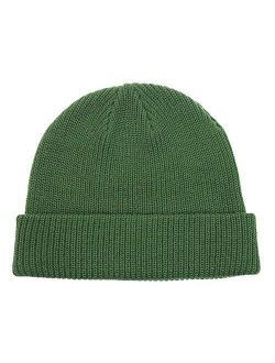 Connectyle Classic Men's Warm Winter Hats Acrylic Knit Cuff Beanie Cap Daily Beanie Hat