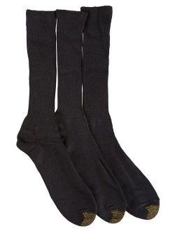 Men's Fluffies Crew Socks, 3 Pairs