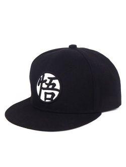 PopCrew Adjustable Hat for Dragonball Dragon Ball Z DBZ Anime Fan Cosplay Costume Snapback Cap