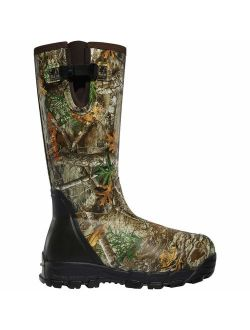 Lacrosse Men's Rubber Boot Hunting Shoe, Realtree Edge