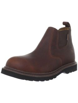 """Men's 4"""" Romeo Waterproof Breathable Non Safety Toe Pull-on Boot Cms4100"""
