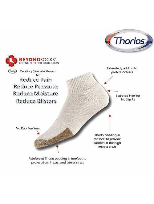 thorlos Men's TMX Max Cushion Tennis Ankle Socks