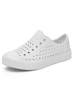 Mens Womens Kids Lightweight Breathable Slip-on Sneaker Garden Clogs Beach Sandals Water Shoes