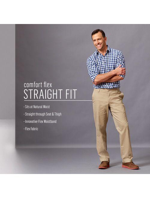 Wrangler Authentics Men's Comfort Flex Waist Khaki Pant