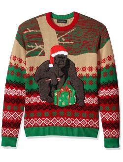 Men's Ugly Christmas Sweater Gorillas