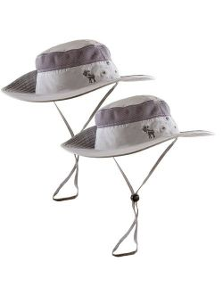 The Friendly Swede Sun Hat 2-Pack - Fishing Boonie Hat for Safari and Summer