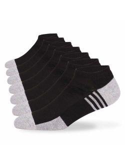 Eallco Mens Ankle Socks Comfy Casual Socks 6 Pairs