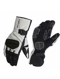 Balnna Ski Gloves for Mens&Womens, Multi-Functional Snowboard Gloves Waterproof Touch Screen Winter Gloves with 3M Thinsulate