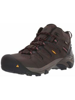 Utility Men's Lansing Mid Waterproof Industrial And Construction Shoe