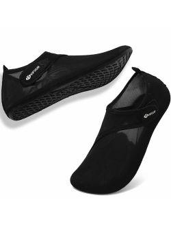 VIFUUR Womens Mens Water Shoes Adjustable Aqua Socks for Outdoor Swimming Beach Surfing