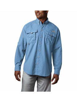 Men's Pfg Bahama Ii Long Sleeve Shirt - Tall
