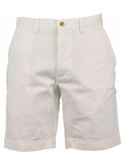 Mens Casual Classic Fit Khaki Shorts