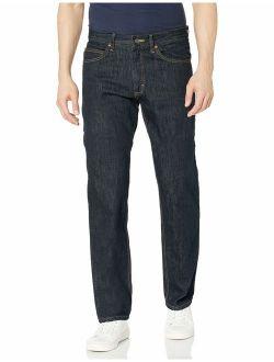 Men's Regular Fit Straight Leg Jeans