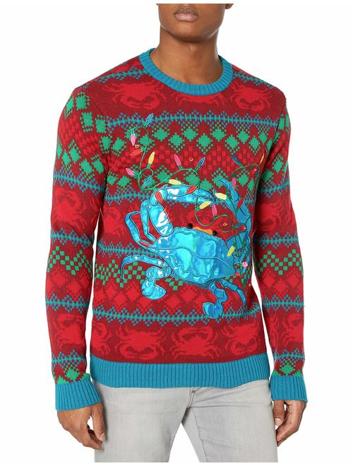 Blizzard Bay Men's Ugly Christmas Sweater Sea Creatures