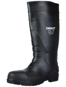 Tingley 31251 General Purpose PVC Knee Boots with Steel Toe