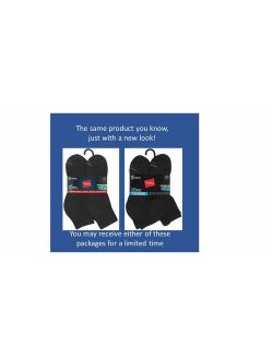 Mens Black Active Cool Ankle Socks (size 6-12)