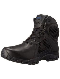 Bates Men's 6 Inch Strike Side Zip Waterproof Tactical Boot