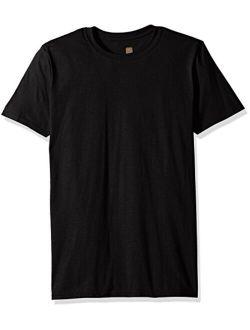 Men's Cotton Short Sleeve Crew Neck T-shirt