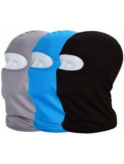 MAYOUTH Balaclava face mask ski mask Sun/uv Neck face Cover Cloth Bike Outdoor Sports 3pac