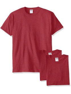 Jerzees Men's Adult Crew Neck  Short-Sleeve T-Shirt 3 Pack