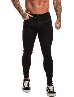Men's Ripped Jeans Slim Fit Skinny Stretch Jeans Pants