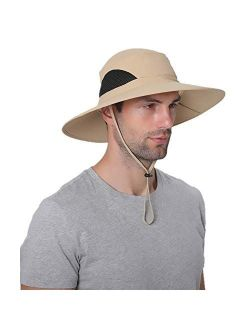 KPWIN Fishing Hat, Safari Hat Cap with UPF 50 Sun Protection for Men and Women