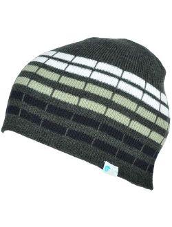 Alki'i cube mens/womens warm beanie snowboarding winter hats - 6 colors