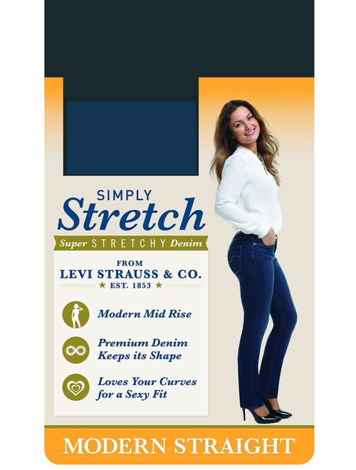 Signature by Levi Strauss & Co. Gold Label Women's Straight Jean