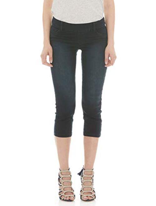 Suko Jeans Women's Denim Capris - Pull On - Stretch