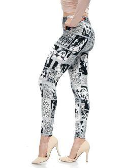 LMB | Lush Moda | Women's Extra Soft Leggings | Variety of Prints | One Size
