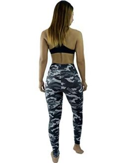 LMB | Extra Soft Capri Leggings with Design | Variety of Prints | One Size