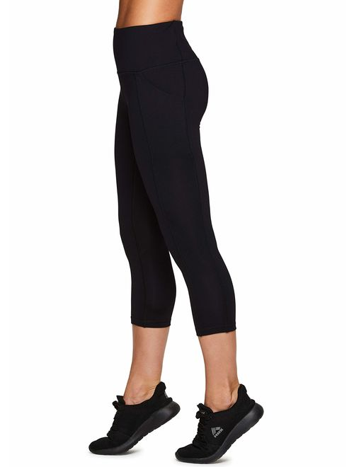 RBX Active Womens Workout Legging with Mesh