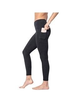 - High Waist Tummy Control Compression Cotton Power Flex Leggings