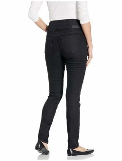 Jag Jeans Women's Nora Knit Pull on Skinny Fit Jean