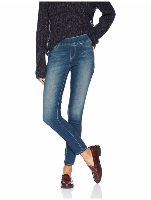 Signature by Levi Strauss & Co. Gold Label Blue Totally Shaping Pull-on Skinny Jeans